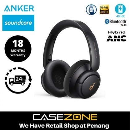 Anker Soundcore Life Q30 Hybrid Active Noise Cancelling Headphones with Multiple Modes, Hi-Res Sound, Custom EQ via App, 40H Playtime, Comfortable Fit, Bluetooth Headphones, Connect to 2 Devices